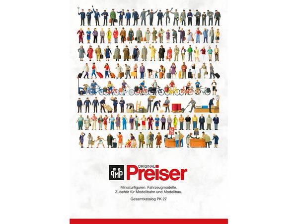 Bilde av Preiser katalog (PK27)