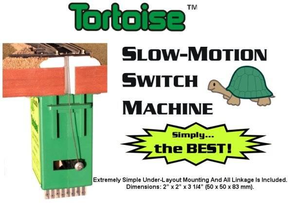 Bilde av Circuitron - Sporvekselmotor, Tortoise