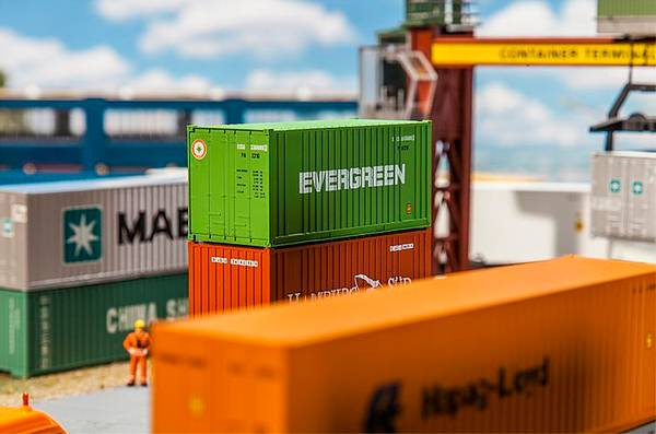 Bilde av Faller - Container, 20' Evergreen
