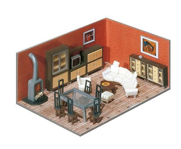 Bilde av Faller - Interiør; hjem, kontor etc. (m. belysning)