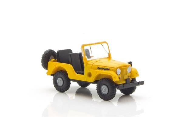 Bilde av Brekina - Jeep, gul