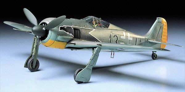 Bilde av Tamiya - 1/48 Focke Wulf FW190 A-3