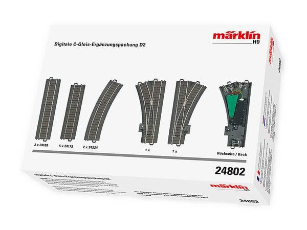 Bilde av Märklin - Skinneutvidelsessett D2, digitalt