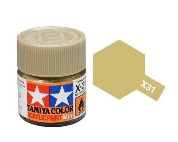Bilde av Tamiya X-31 Titan Gold