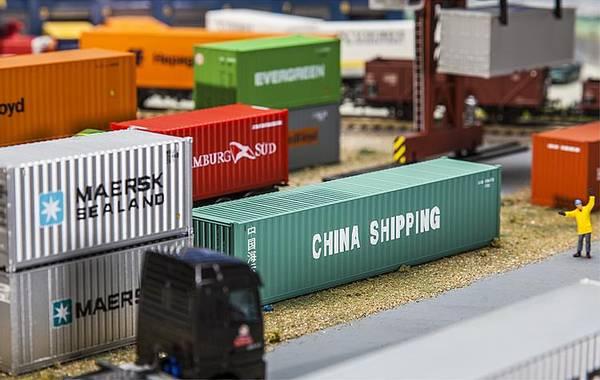 Bilde av Faller - Container 40', China Shipping