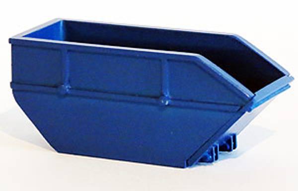 Bilde av Resinmodeller - Søppelcontainer, blå