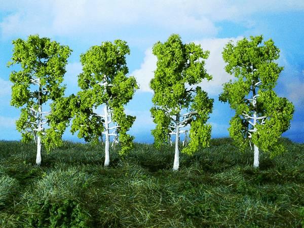 Bilde av Heki - Bjørketrær 10cm, 4 stk