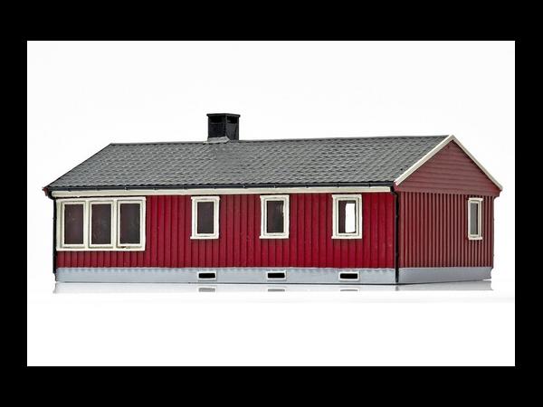 Bilde av NMJ Skyline Norsk enebolig, Rød/Hvit, ferdigmodell
