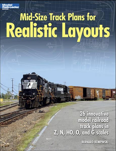 Bilde av Mid-Size Track Plans for Realistic Layouts