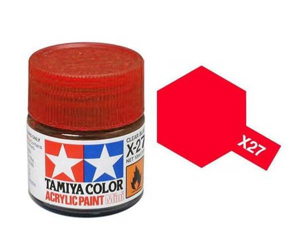 Bilde av Tamiya X-27 Clear Red
