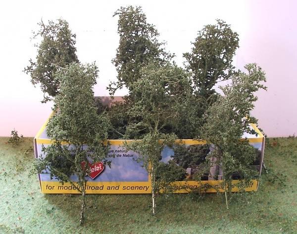 Bilde av Heki - Løvtrær og busker m.blader, mellomgrønn