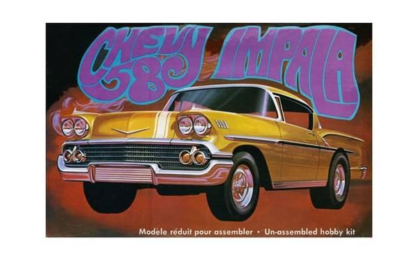 Bilde av AMT - 1/25 Chevrolet Impala 1958