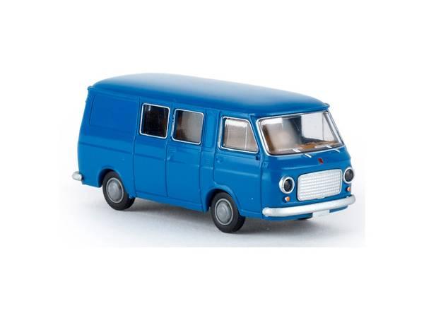 Bilde av Brekina - Fiat 238 kombi, blå