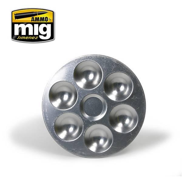 Bilde av MIG - Aluminium Pallet (6 wells)