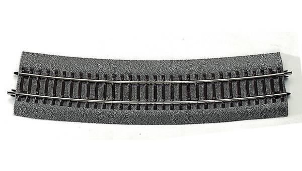 Bilde av RocoLine - Buet skinne R10, 15 grader – for veksler