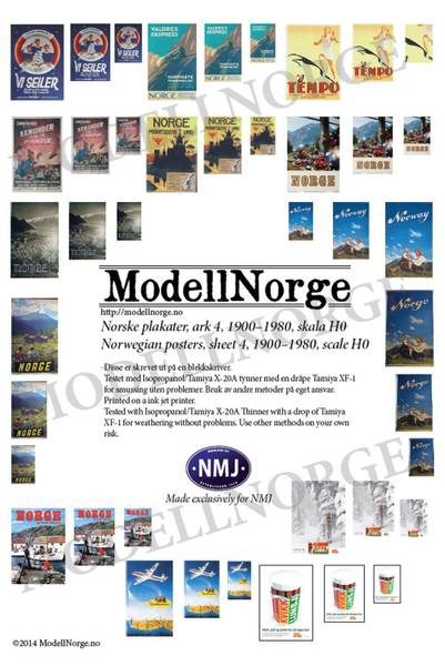 Bilde av Norske plakater #4