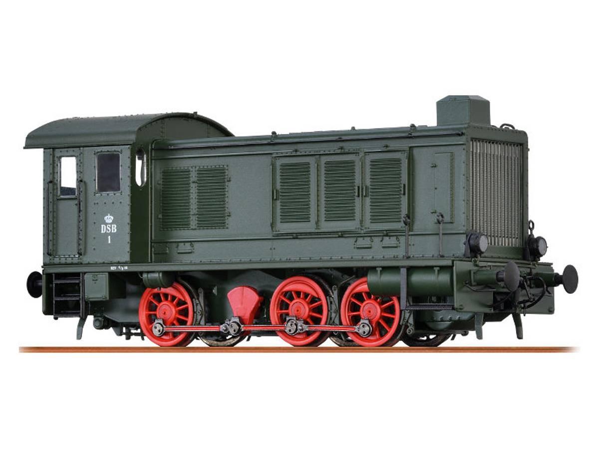 Brawa - DSB T1 diesellok digital, sound, digi kobl.