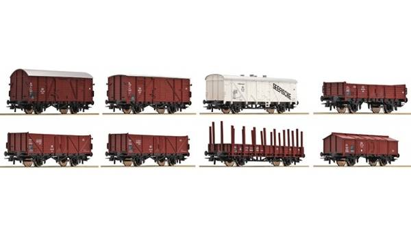 Bilde av Roco - DB godsvognssett, 8 stk