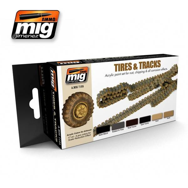 Bilde av MIG - Set, Tires and Tracks