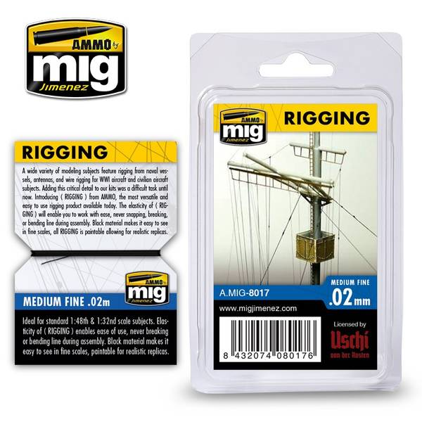 Bilde av MIG - Rigging, Superfine 0,02mm