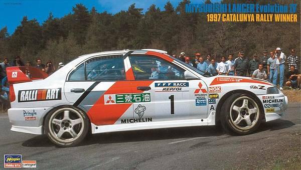 Bilde av Hasegawa - 1/24 Mitsubishi Lancer Evo IV, 1997 Catluniya Rally