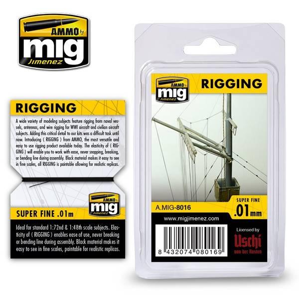 Bilde av MIG - Rigging, Superfine 0,01mm