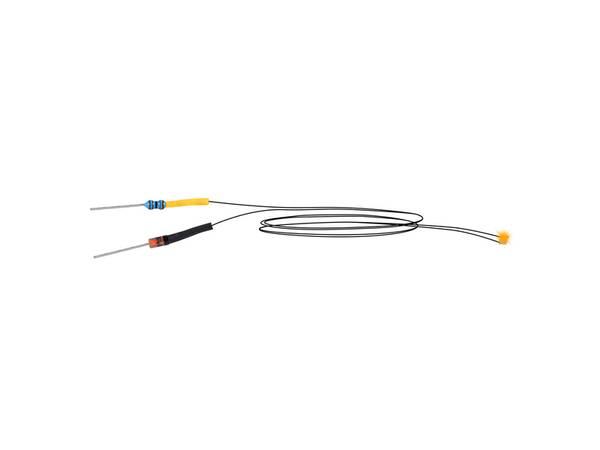 Bilde av Viessmann - LED minipære gul, 5 stk