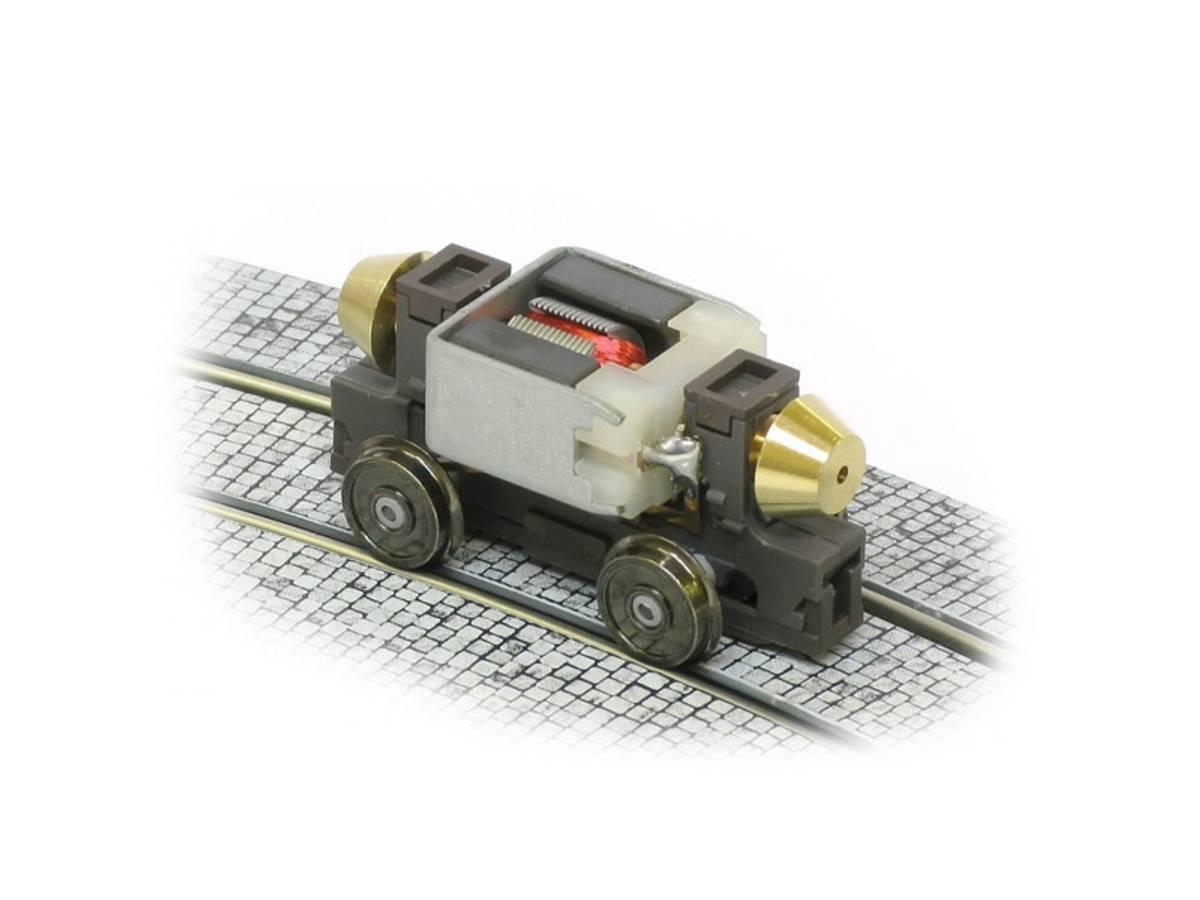 Halling - Drivverk H0 med variabel akselavstand