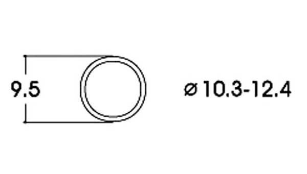 Bilde av Roco -  AC, Gummiringer for lokhjul, 10.3 - 12.4mm