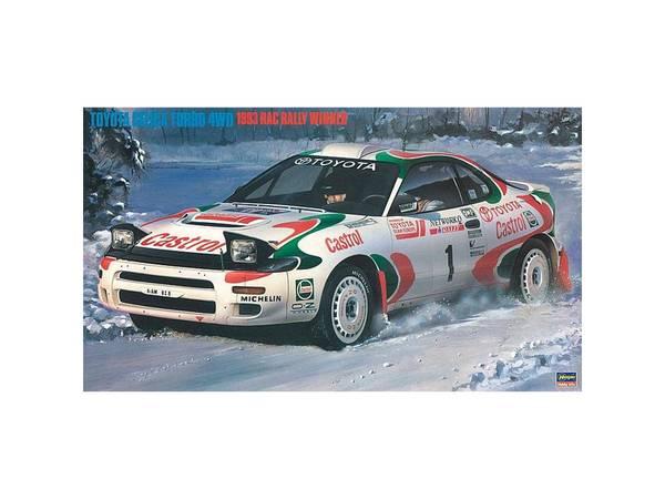 Bilde av Hasegawa - 1/24 Toyota Celica Turbo, 1993 RAC
