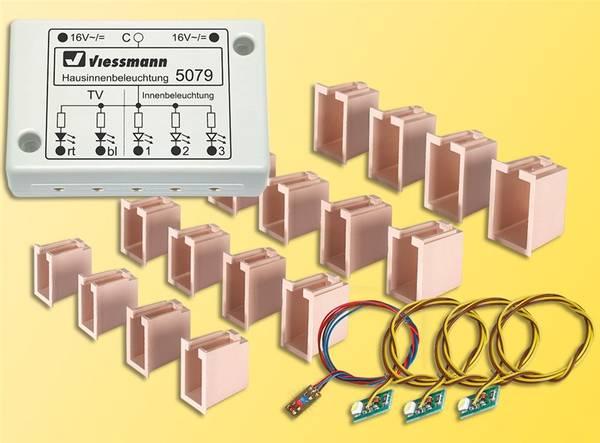 Bilde av Viessmann - Husbelysning med lyskasser og TV-simulering