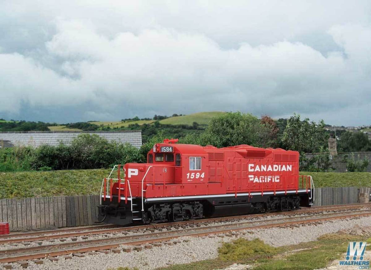 Walthers - Canadian Pacific GP9 #1594, DCC Sound
