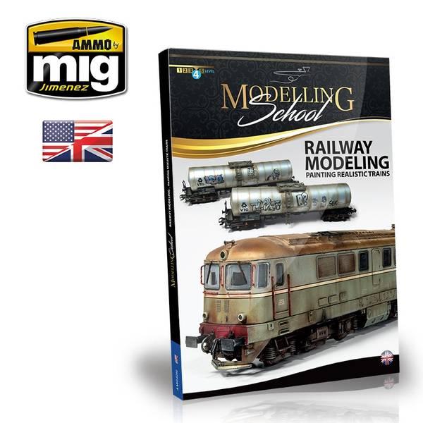 Bilde av MIG - Bok, Railway Modeling: Painting realistic trains
