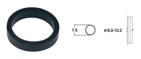 Bilde av Roco - Gummiringer for lokhjul, 8.3 - 10.2mm