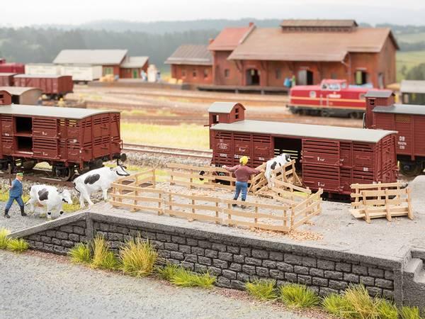 Bilde av Noch - Lasterampe med gjerder og porter til husdyr