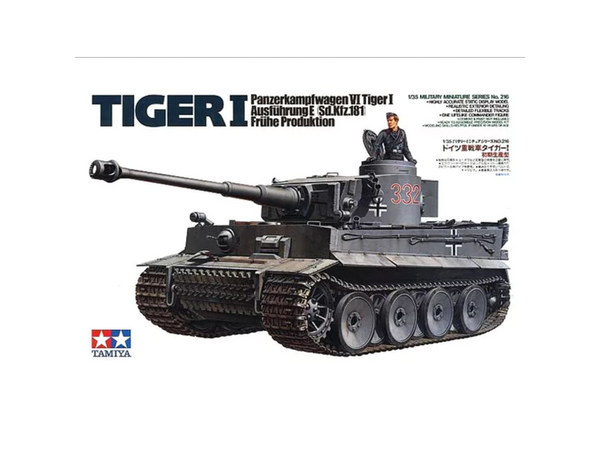 Bilde av Tamiya - 1/35 Tiger I Early production