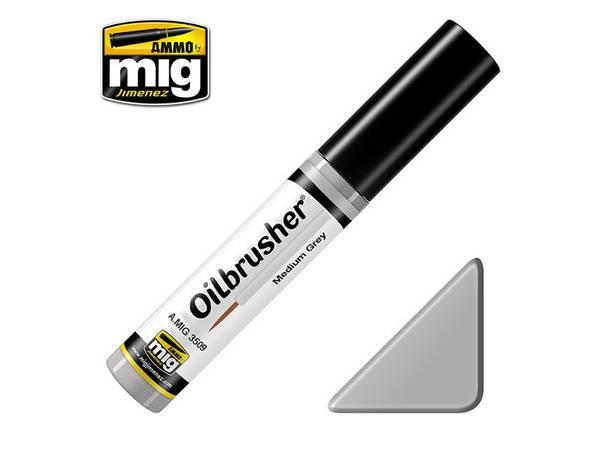 Bilde av MIG - Oilbrusher, Medium Grey