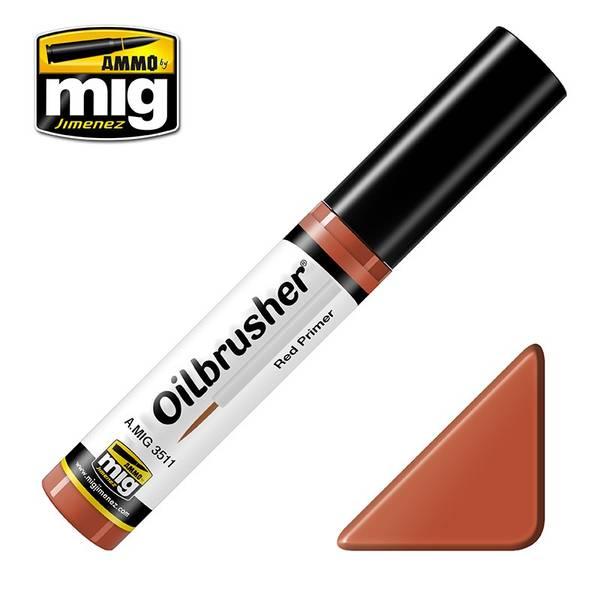 Bilde av MIG - Oilbrusher, Red Primer