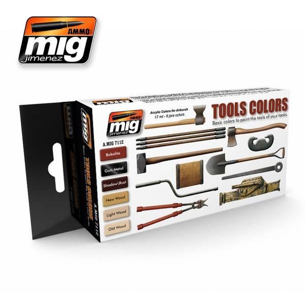 Bilde av MIG - Set, Tools Colors