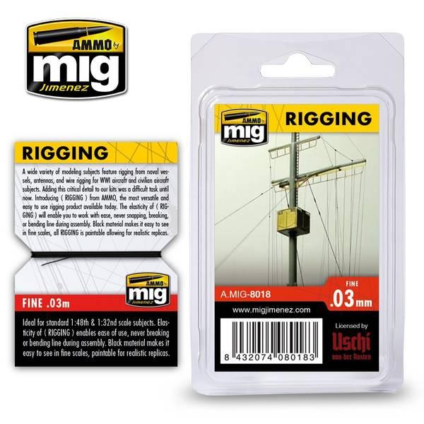 Bilde av MIG - Rigging, Superfine 0,03mm