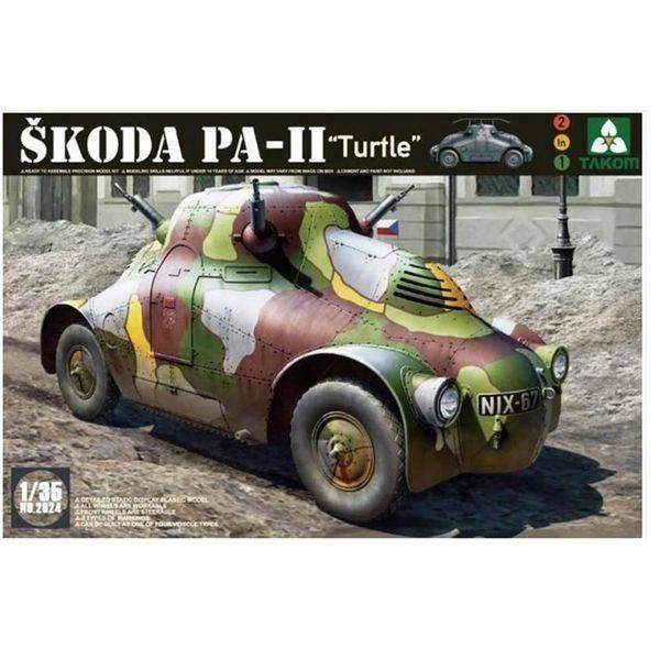 Bilde av Takom - 1/35 Skoda PA-II Turtle