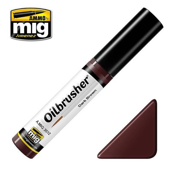 Bilde av MIG - Oilbrusher, Dark Brown