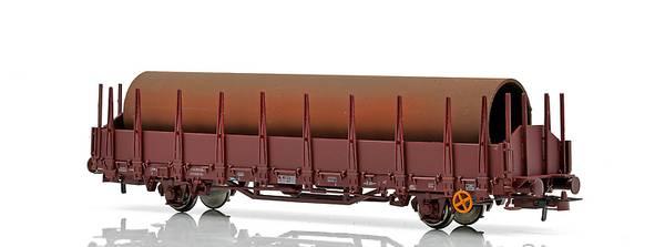 Bilde av NMJ Topline NSB Stakevogn Os med rørlast