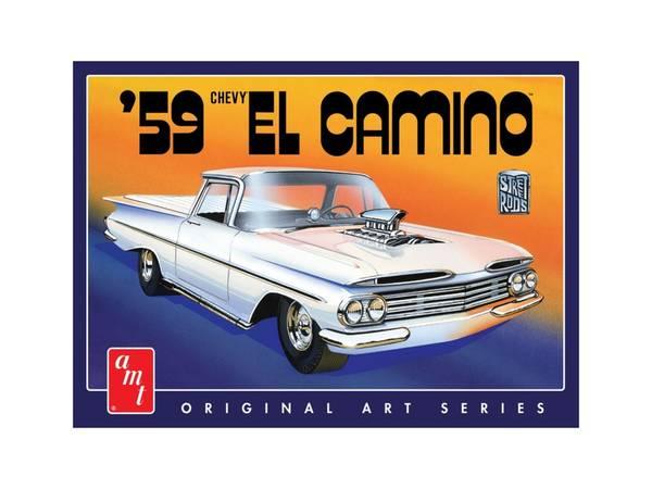 Bilde av AMT - 1/25 Chevrolet El Camino