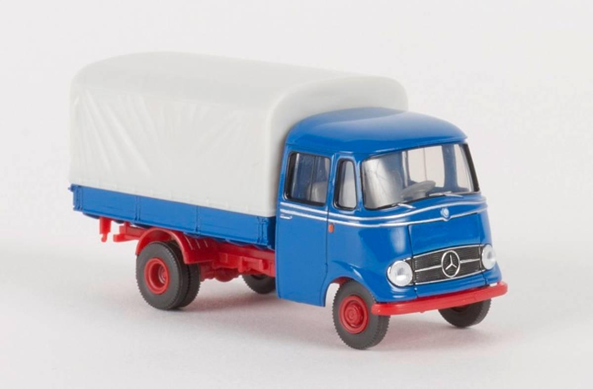 Brekina - Mercedes L319, blå