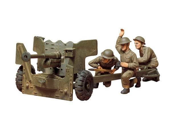 Bilde av Tamiya - 1/35 British Army 6 pounder anti tank gun