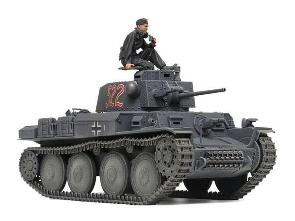 Bilde av Tamiya - 1/35 Panzerkampfwagen 38t Ausf. E/F