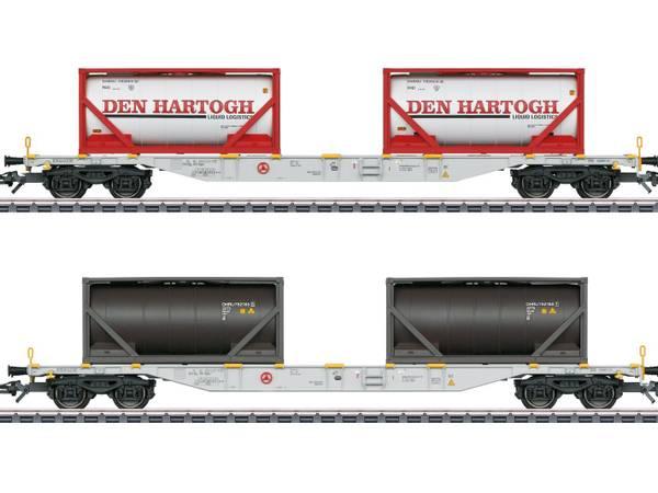 Bilde av Märklin - Type Sgns Container Transport Car Set