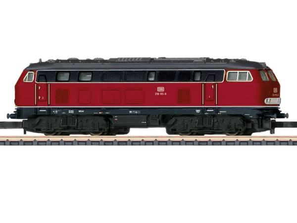 Bilde av Märklin Z-skala - Class 218 Diesel Locomotive