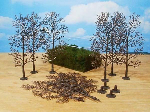 Bilde av Heki - Løvtrær 18cm, byggesett 10 stk